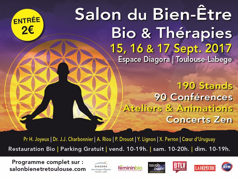 Salons imanna crystal team for Salon bio toulouse