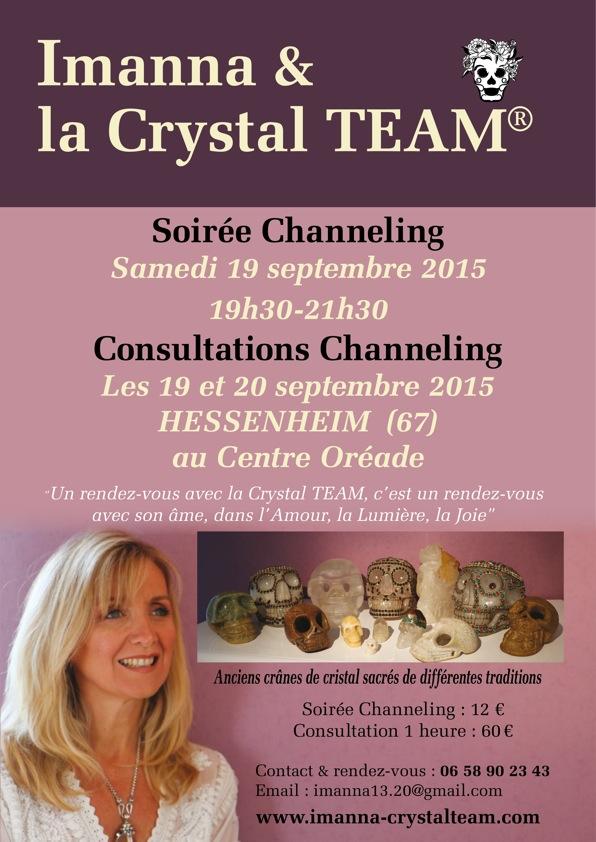 affiche Imanna soirée channel + consultations Oréade sept 2015-1
